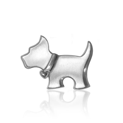 Sterling Silver Animals Scottie