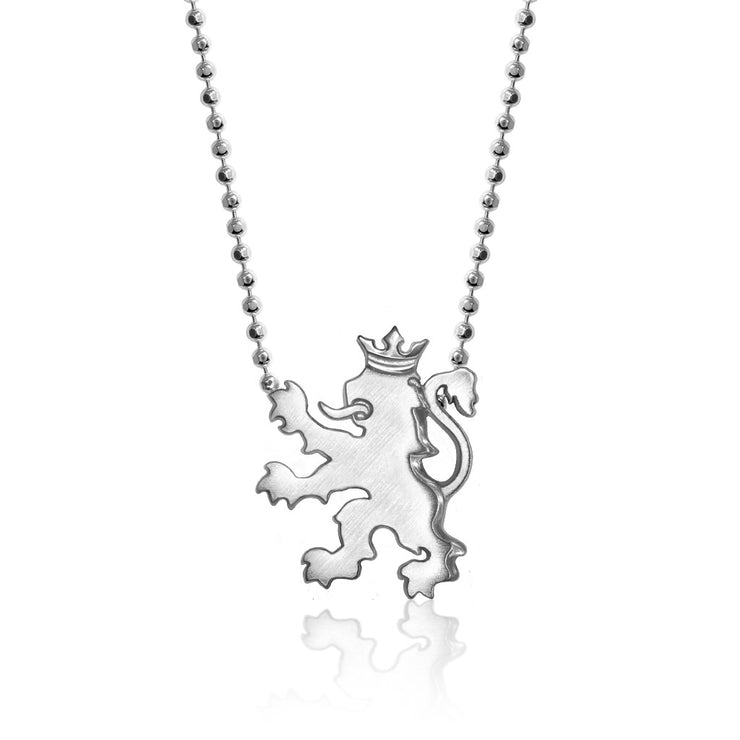 Sterling Silver Cities Royal Lion