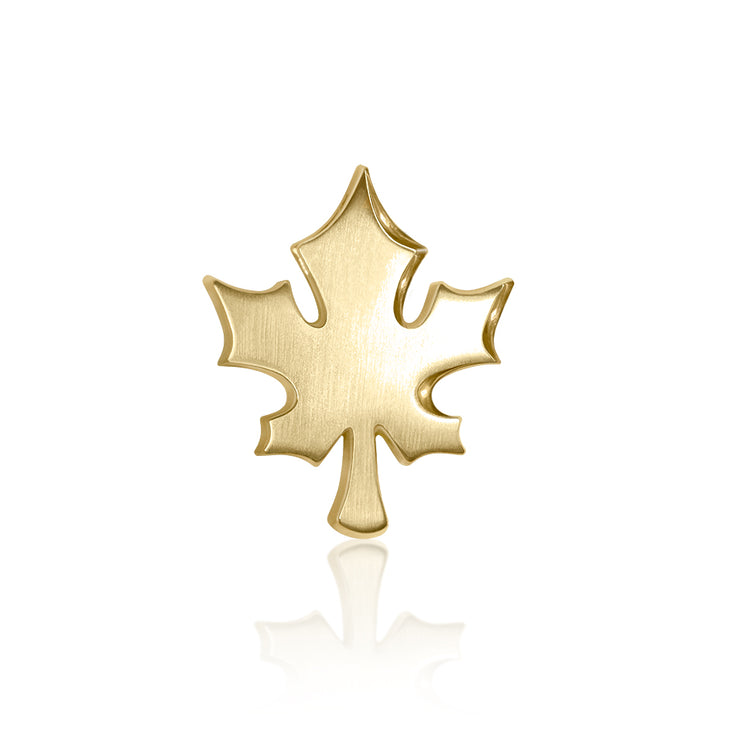 14k Yellow Gold Cities Maple Leaf