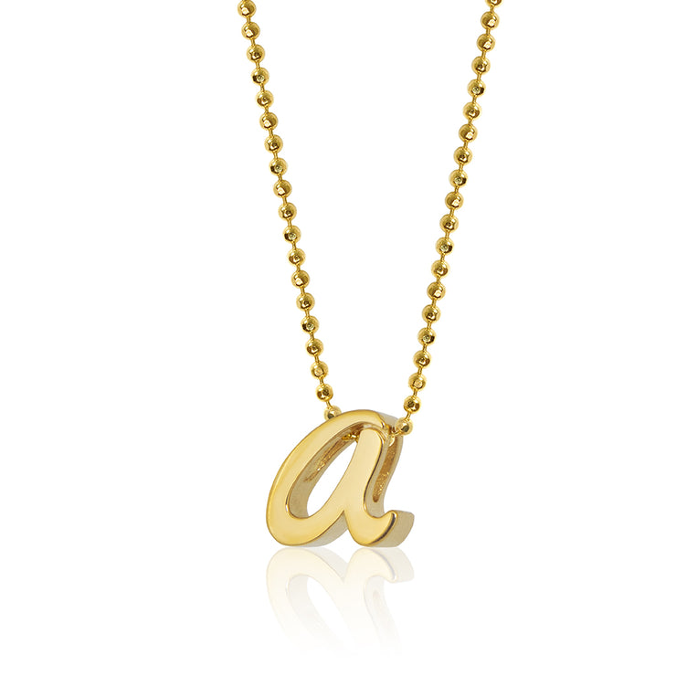 18K Yellow Gold Autograph Letter