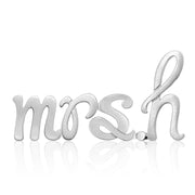 Custom Little Icons™ Autograph Letters MRS