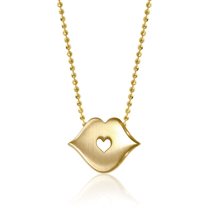 14k Yellow Gold Princess Kiss
