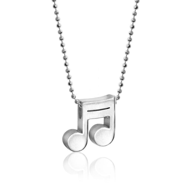 Sterling Silver Rock Star Double Note 2