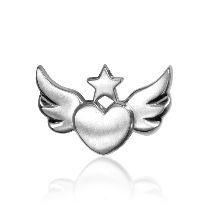 Rock Star Heart With Wings Alex Woo Inc