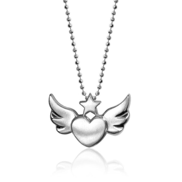 Rock Star Heart with Wings