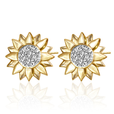 Seasons Sunflower Earrings