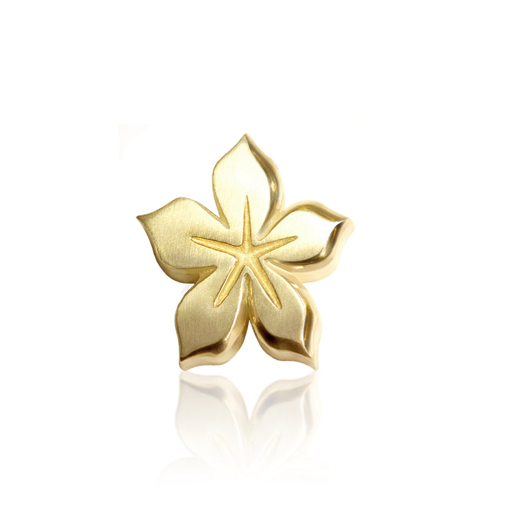 14k Yellow Gold Signs Lily (Virgo)