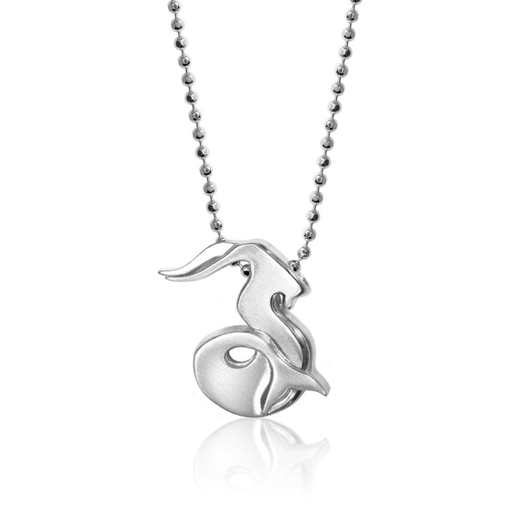 Sterling Silver Signs Sea Goat (Capricorn)