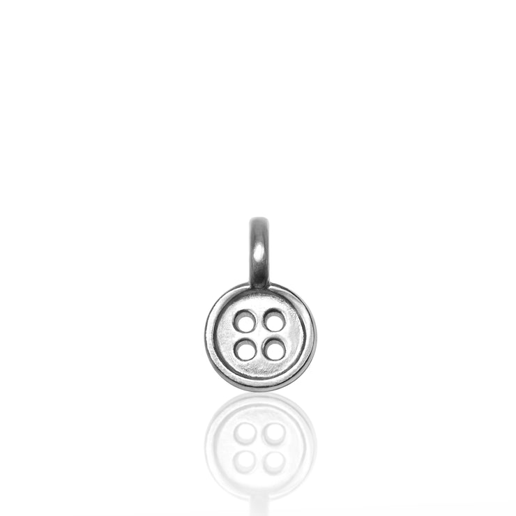 Sterling Silver Mini Additions™ Button