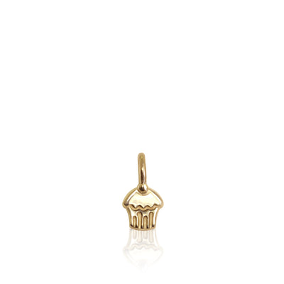 14k Yellow Gold Mini Additions™ Cupcake