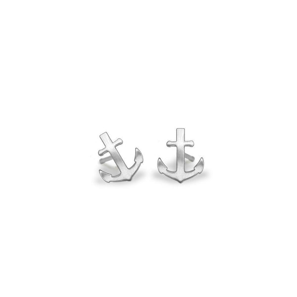 Mini Addition Anchor Earrings