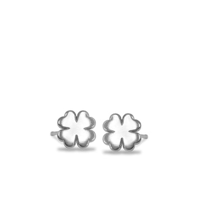 Mini Addition Clover Earrings