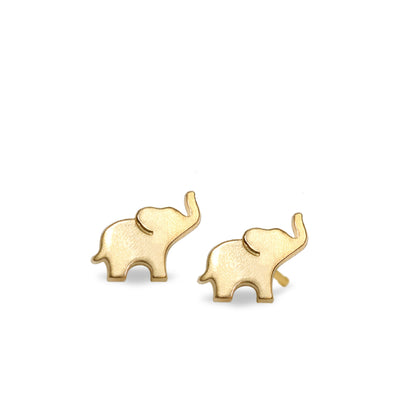 Mini Addition Elephant Earrings