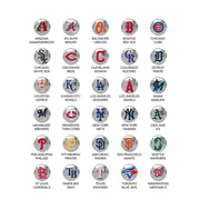 MLB Baseball Disc Earrings