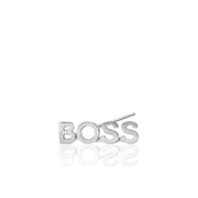 Mini X Boss Single Stud Earring