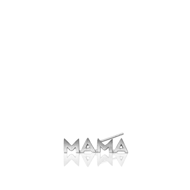 Mini X Mama Single Stud Earring