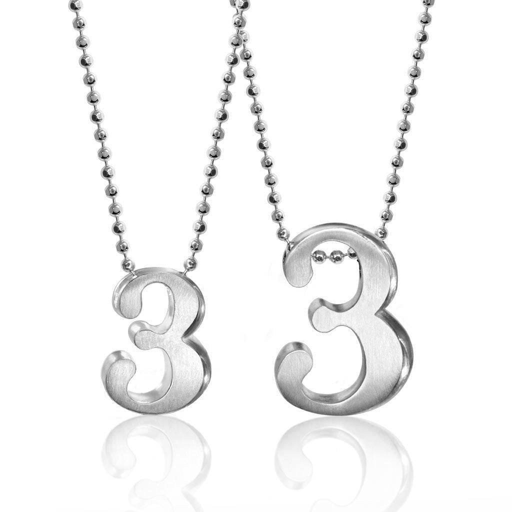 Number 3 alex woo jewelry number 3 mozeypictures Image collections