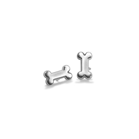 Mini Addition Dog Bone Earrings