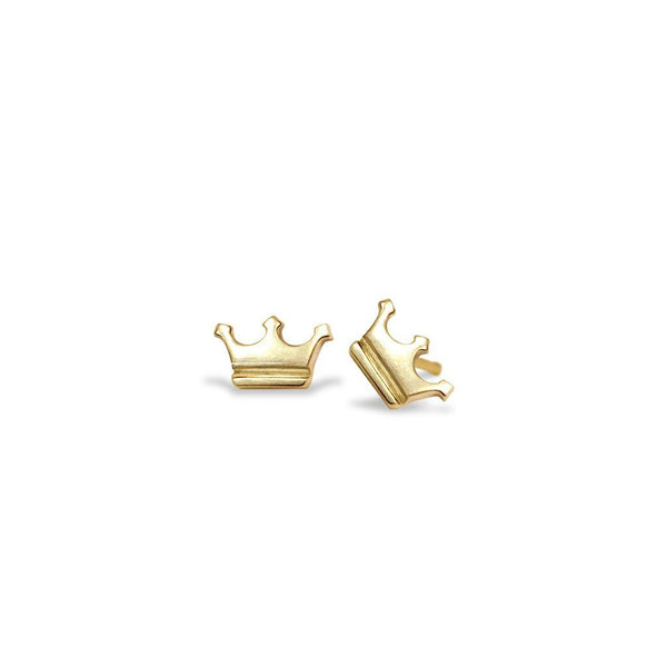 Mini Addition Crown Earrings