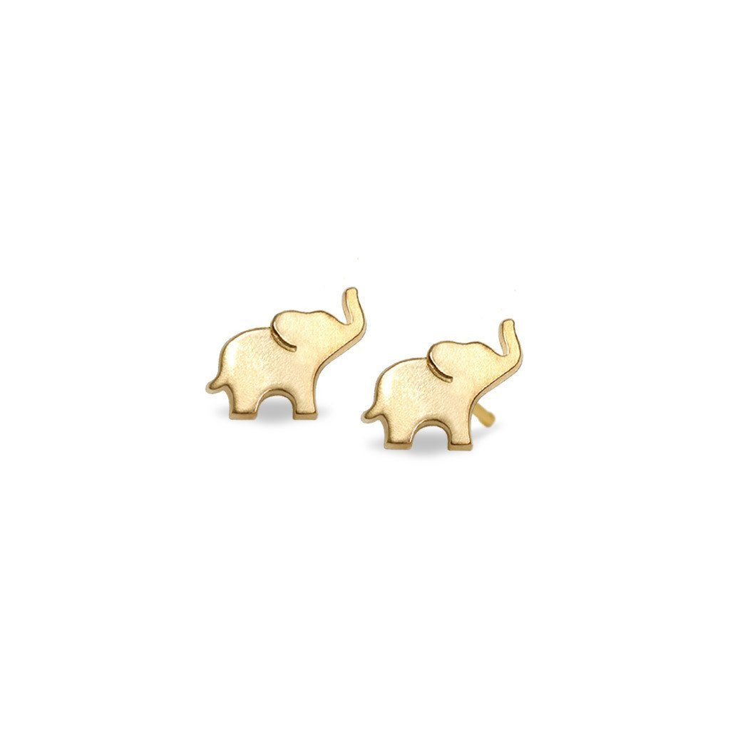 small with silver heart original stud elephant gold collections thumbnail products detail img in earrings