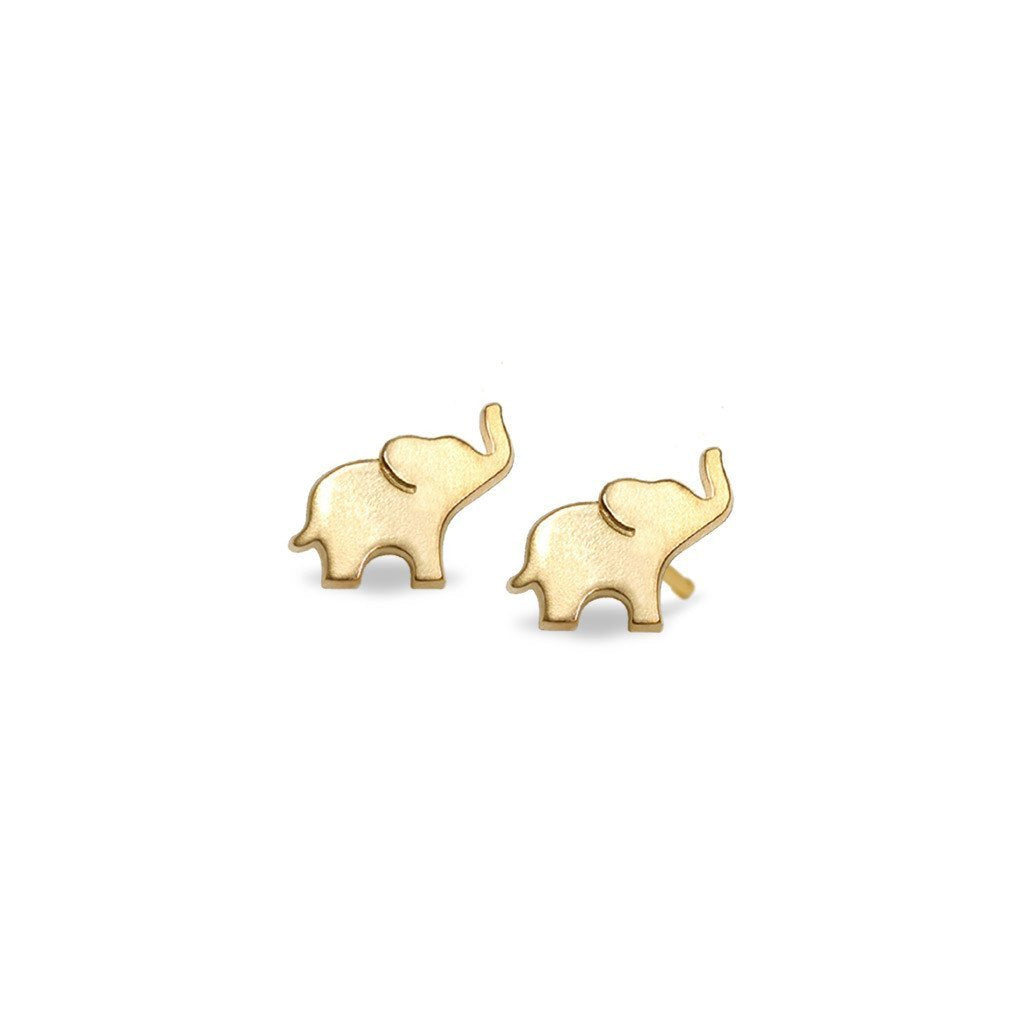 main earrings elephant pair studs small mavros products silver view larger stud patrick