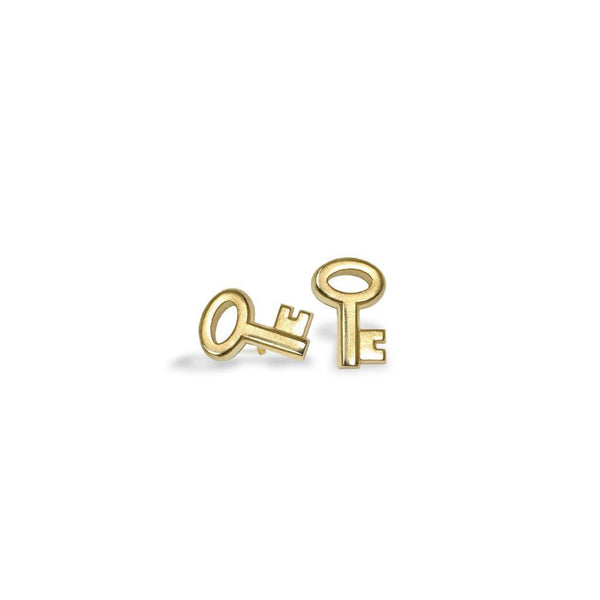 Mini Addition Key Earrings