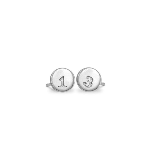 Custom Mini Addition Mix and Match Number Earrings