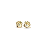 Mini Addition Paw Earrings