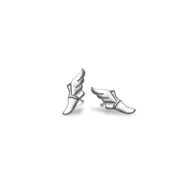 Mini Addition Trackfoot Earrings