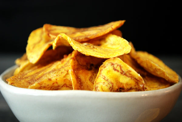 Baked Plantain Chips Bowl (100oz)