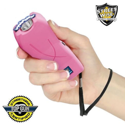 Lady Life Guard 6,500,000* Stun Gun - Pink - Also In Store