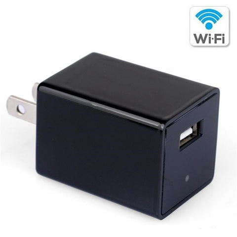 Mini HD DVR 1080P WIFI USB Wall Charger Hidden Cam - Also in Store