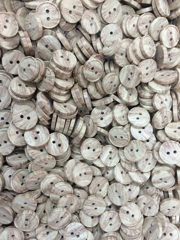 Wood Finish Buttons