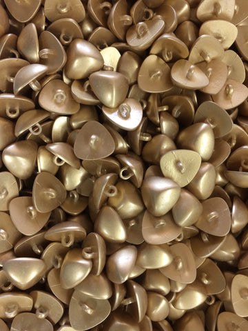 Gold Plastic Buttons