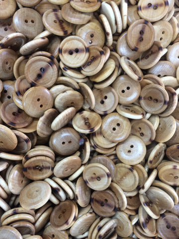 Wood Plastic Buttons