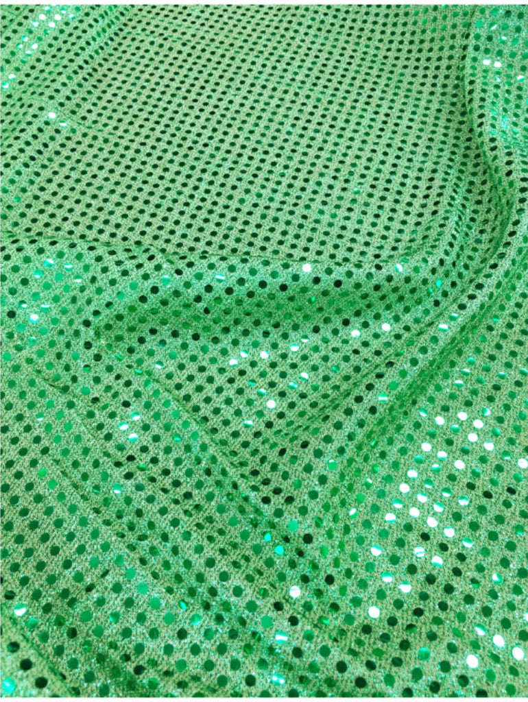 3mm Green Sequin