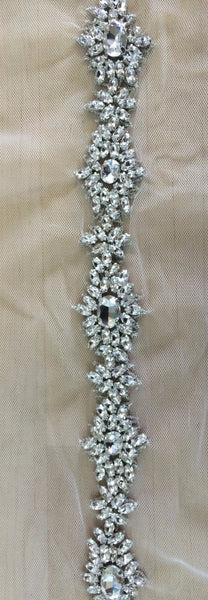Rhinestone Beaded Trim