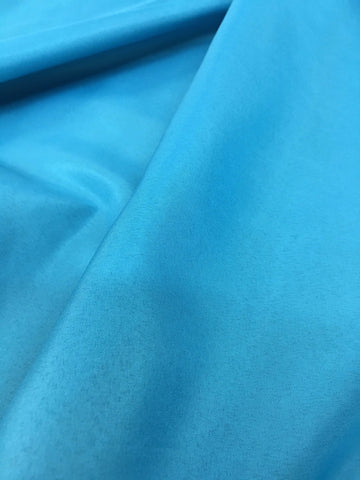 Turquoise Pongee Lining