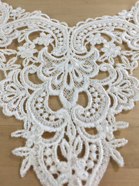 Ivory Venise Applique