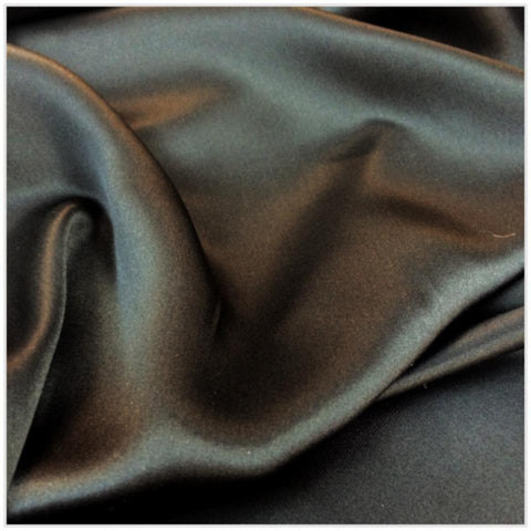Silk Charmeuse- Black