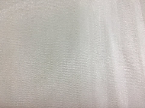 "108"" Diamond White Bridal Illusion-Sparkle Finish"