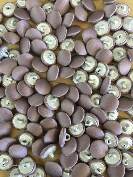 Dusty Lilac Covered Vest Buttons
