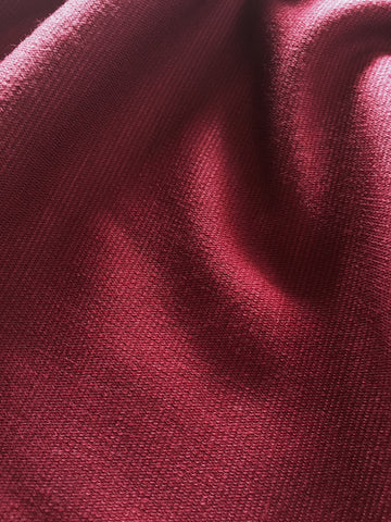 Brick Red Stretch Double Knit