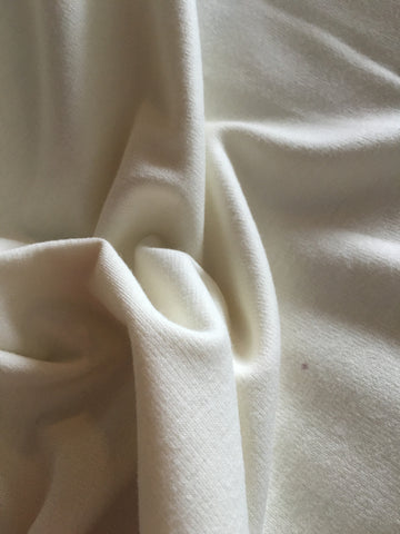 Winter White Stretch Double Knit