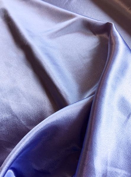 Lilac Crepe Back Satin
