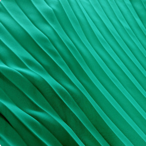 Pleated Chiffon Panels