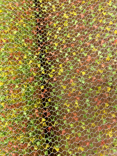 Multi Colored Fishnet Fabric