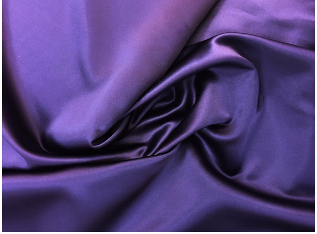 Vintage Grape Satin