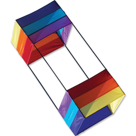 40 in. Box Kite - Rainbow