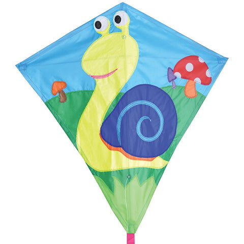 30 in. Diamond Kite - Snail